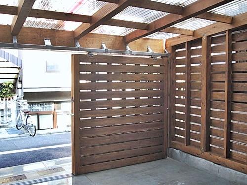 木製ガレージ_c0019551_19574269.jpg