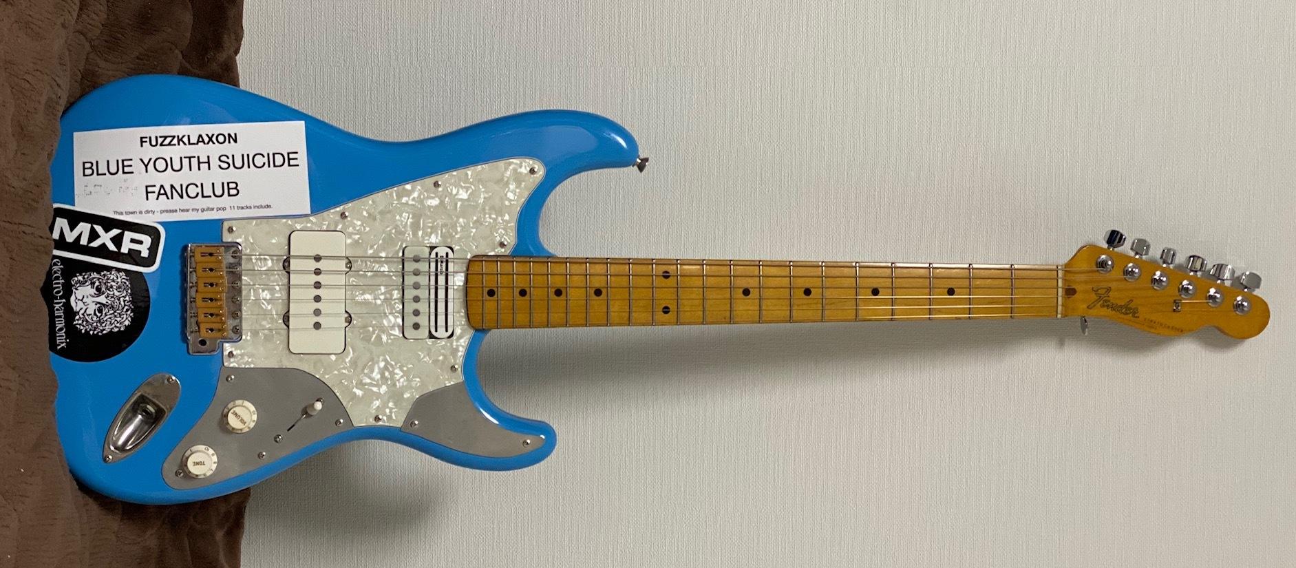"""Fender Japan""""ST-69JH Tele-Neck stratocaster(1990) mod 2020ver""""_e0052576_23484400.jpg"""