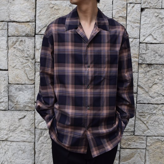 男らしい開襟シャツが入荷です!!_d0158579_18523446.jpg