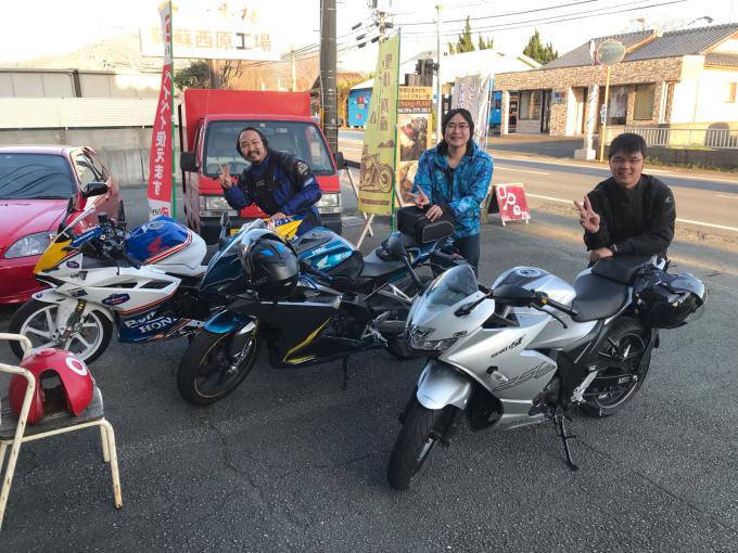 バイクシーズン、きちゃいました(^^)_d0132688_15012985.jpg