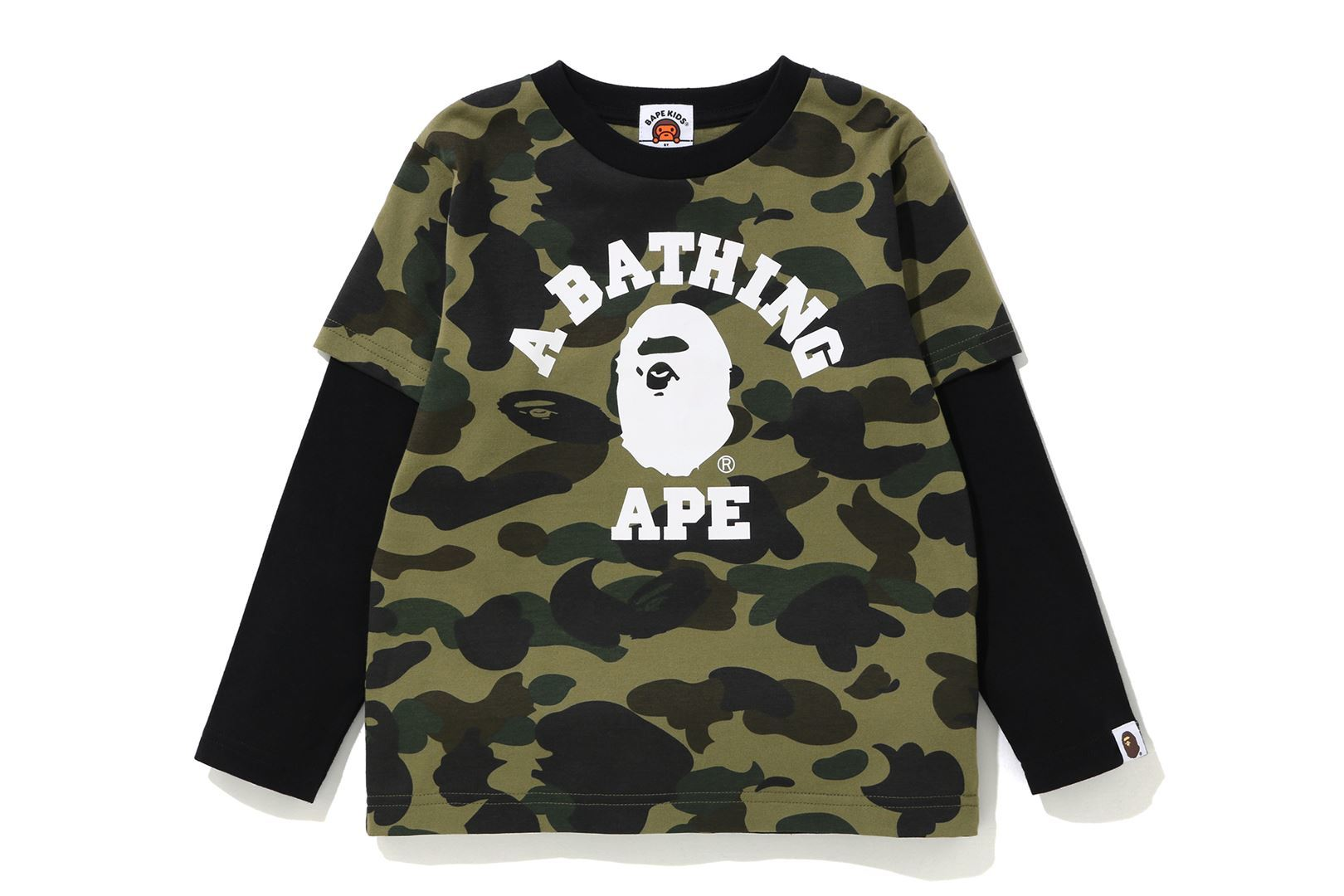 1ST CAMO COLLEGE LAYERED L/S TEE_a0174495_13173357.jpg
