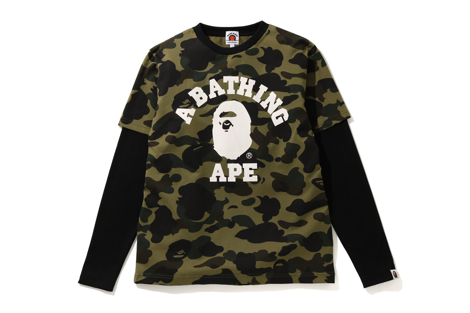 1ST CAMO COLLEGE LAYERED L/S TEE_a0174495_13175449.jpg
