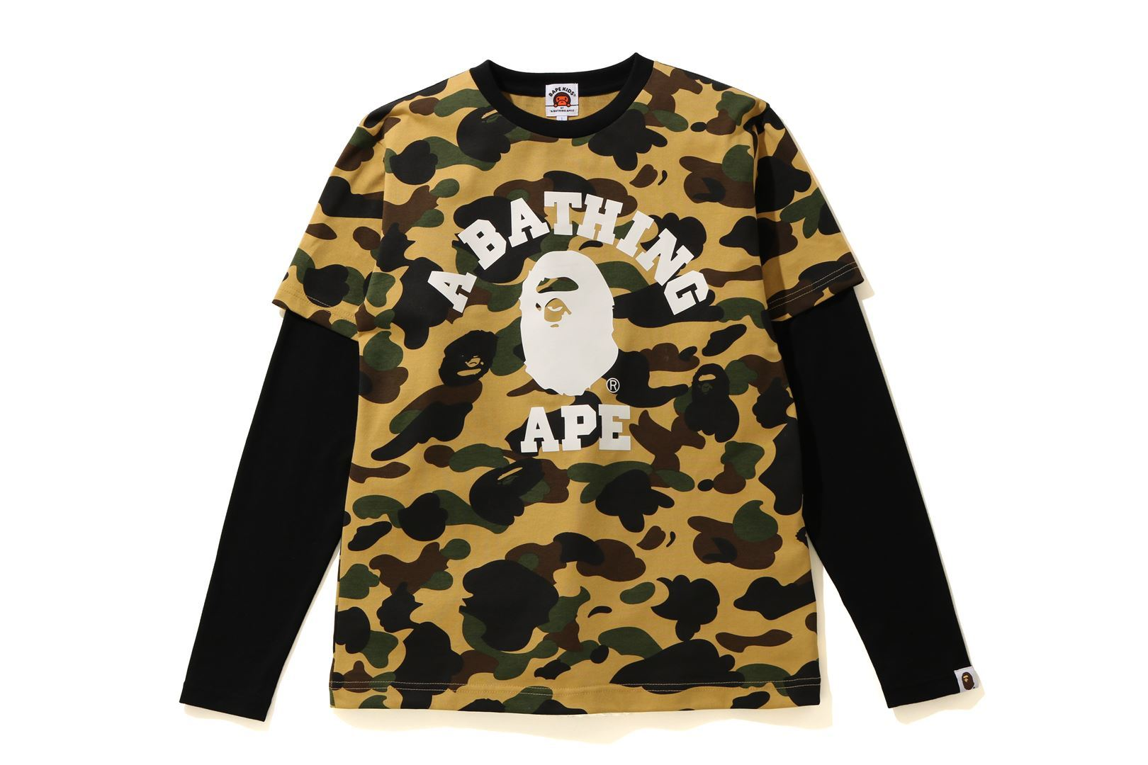 1ST CAMO COLLEGE LAYERED L/S TEE_a0174495_13180376.jpg