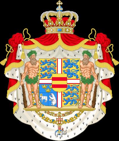 Lobmeyr No:54 Danmark Coat of arms glass_c0108595_23385092.png