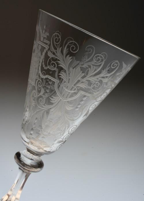 Lobmeyr No:54 Danmark Coat of arms glass_c0108595_23415426.jpeg