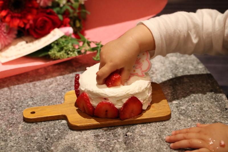 スマッシュケーキと桜_f0376195_17121822.jpg