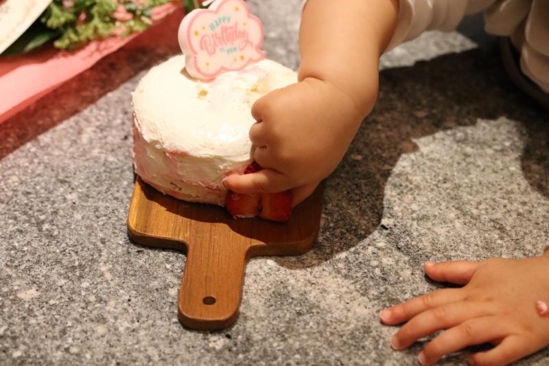 スマッシュケーキと桜_f0376195_17122033.jpg