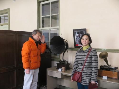 京都市のF.O.ペレイラ 清志・左容子様ご夫妻が来館_c0075701_05194158.jpg