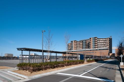 石川県立中央病院建設工事(歩道ルーフその2)_d0095305_14361376.jpg