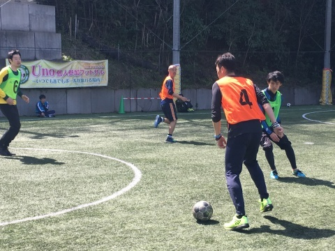 ゆるUNO 3/21(土) at UNOフットボールファーム_a0059812_17320481.jpg
