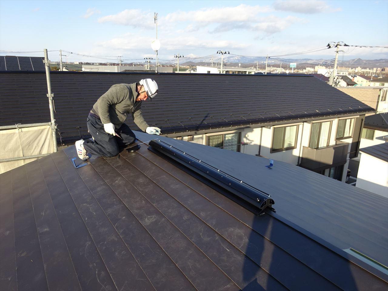 下太田 古材新築の家 建て方作業進行中です。_f0105112_04272483.jpg