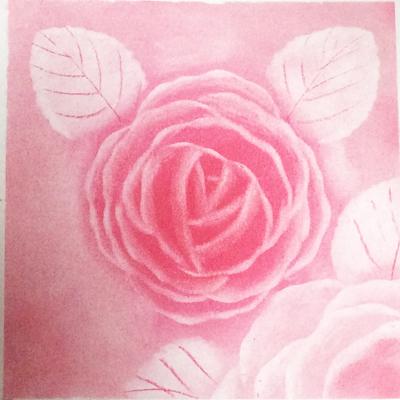 バラの花を何度も試作しています_d0377316_10235413.jpg