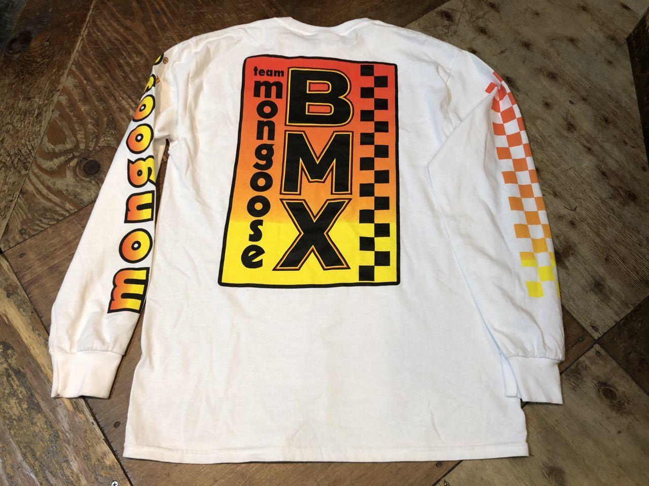 3月26日(木)MONGOOSE マングース BMX ロングスリーブ Tシャツ!_c0144020_16505333.jpg