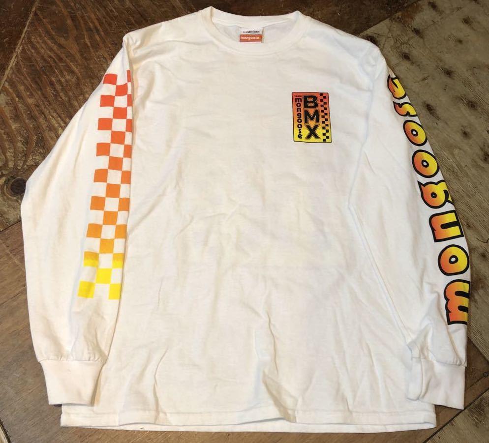 3月26日(木)MONGOOSE マングース BMX ロングスリーブ Tシャツ!_c0144020_16511447.jpg
