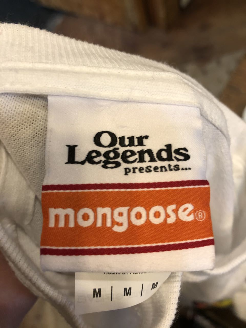 3月26日(木)MONGOOSE マングース BMX ロングスリーブ Tシャツ!_c0144020_16511668.jpg