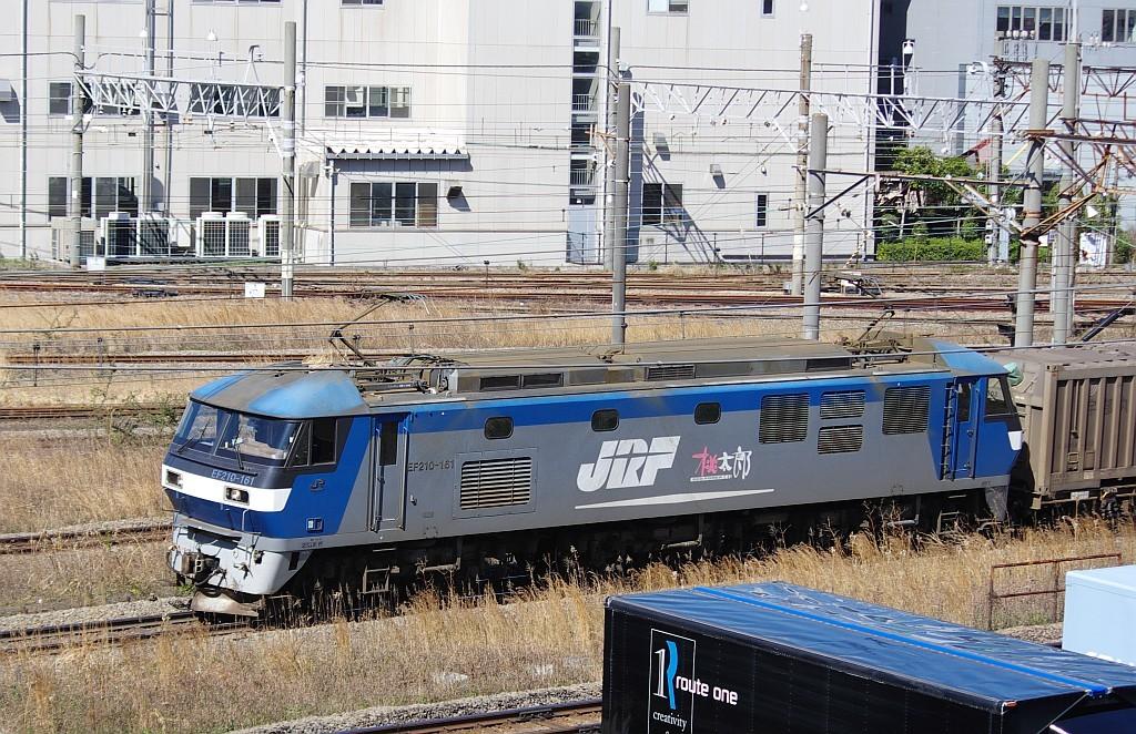 3/20東京貨物ターミナル発4095レのコキとコンテナ_f0203926_21573484.jpg