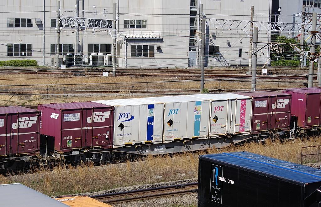 3/20東京貨物ターミナル発4095レのコキとコンテナ_f0203926_21585036.jpg