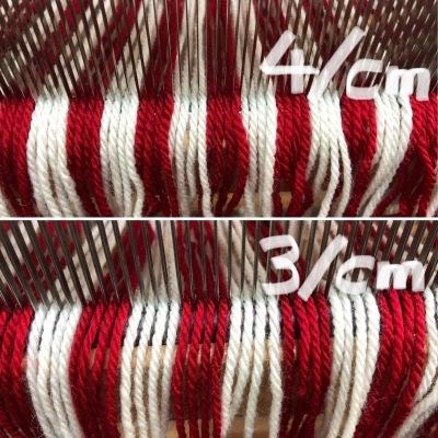 手編み用毛糸で織る  2_a0074130_14251974.jpeg