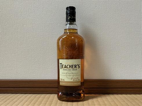 (洋酒)ティーチャーズ ハイランドクリーム / Teacher\'s Highland Cream_f0111040_08183478.jpg