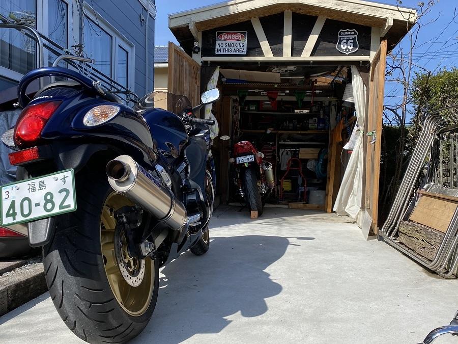 バイクドーリーでママもバイクもくるくるぱー_c0261447_22382563.jpg