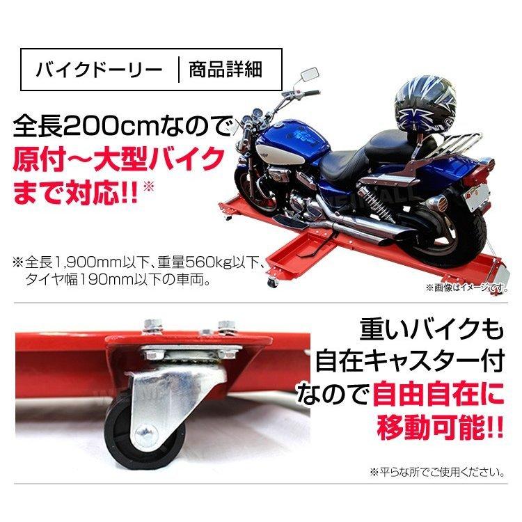 バイクドーリーでママもバイクもくるくるぱー_c0261447_22425199.jpg
