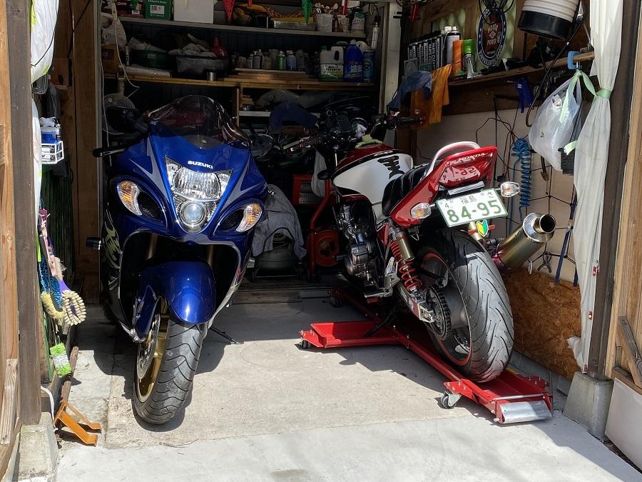 バイクドーリーでママもバイクもくるくるぱー_c0261447_22550593.jpg