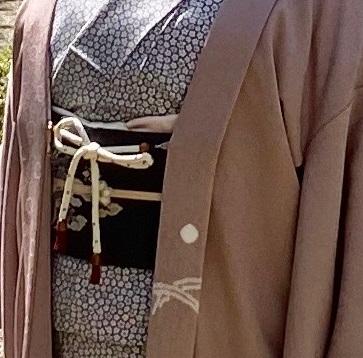藤井絞・兎羽織+龍の帯で記念日にお出掛けのお客様_f0181251_18222087.jpeg