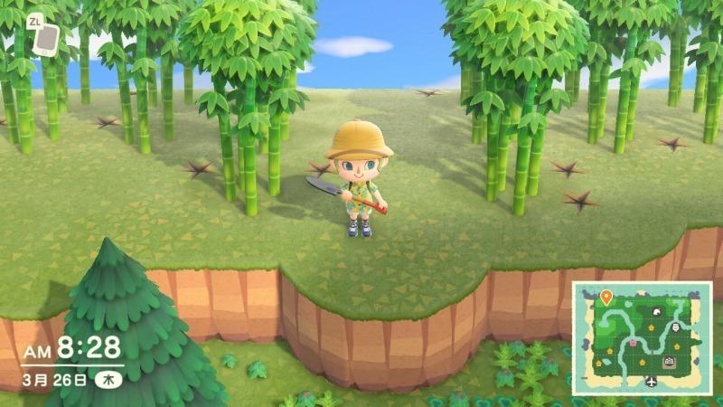 ゲーム「あつまれどうぶつの森 今日も島の開拓」_b0362459_20352673.jpg