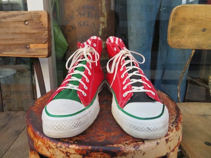 90\'s Made in U.S.A. Converse ALL STAR アメリカ製 クリスマス オールスター 90年代_e0187362_14412775.jpg