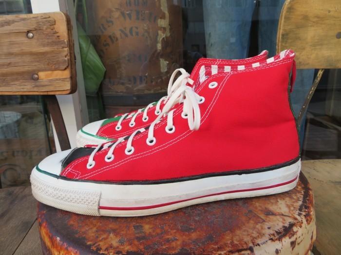 90\'s Made in U.S.A. Converse ALL STAR アメリカ製 クリスマス オールスター 90年代_e0187362_14414391.jpg