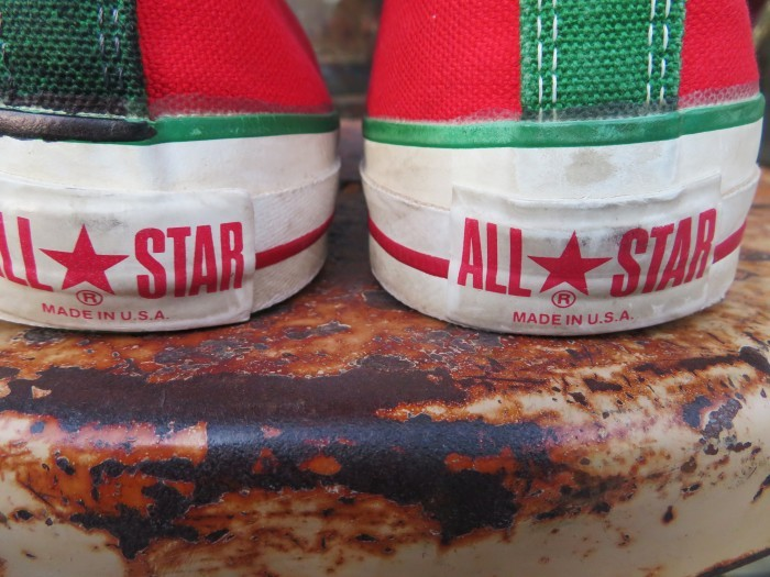 90\'s Made in U.S.A. Converse ALL STAR アメリカ製 クリスマス オールスター 90年代_e0187362_14453221.jpg