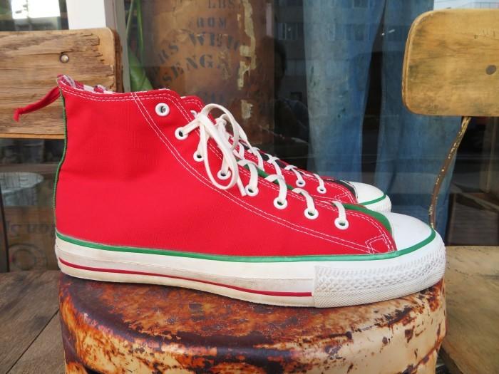 90\'s Made in U.S.A. Converse ALL STAR アメリカ製 クリスマス オールスター 90年代_e0187362_14454947.jpg