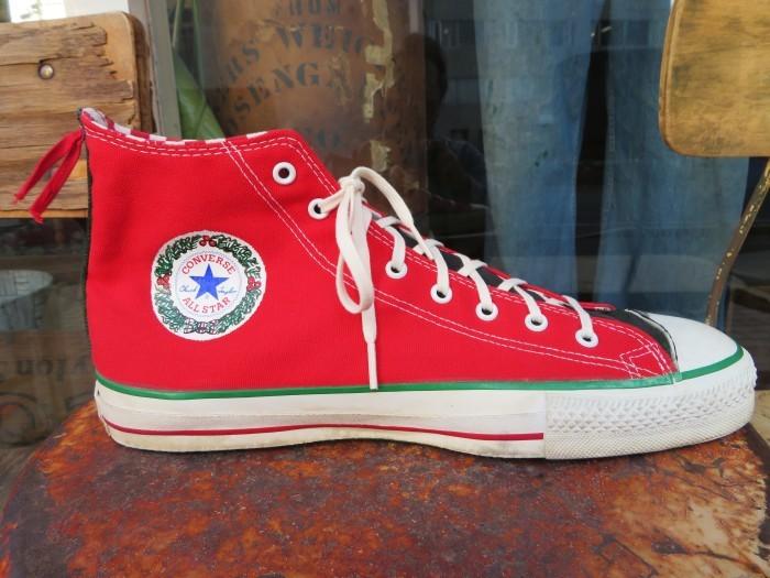 90\'s Made in U.S.A. Converse ALL STAR アメリカ製 クリスマス オールスター 90年代_e0187362_14460841.jpg
