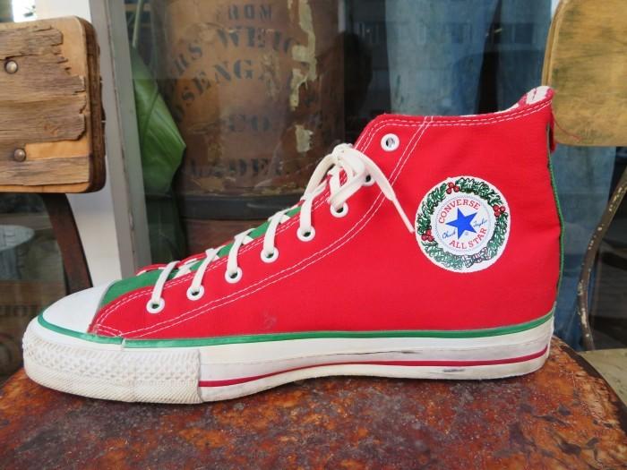 90\'s Made in U.S.A. Converse ALL STAR アメリカ製 クリスマス オールスター 90年代_e0187362_14462737.jpg