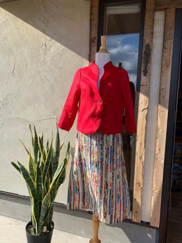 笠間店3/27(金)お休みします  麻のジャケット・スカート新作入荷 やっぱりオススメアルパカ100%ボレロベスト_d0187468_13395336.jpg