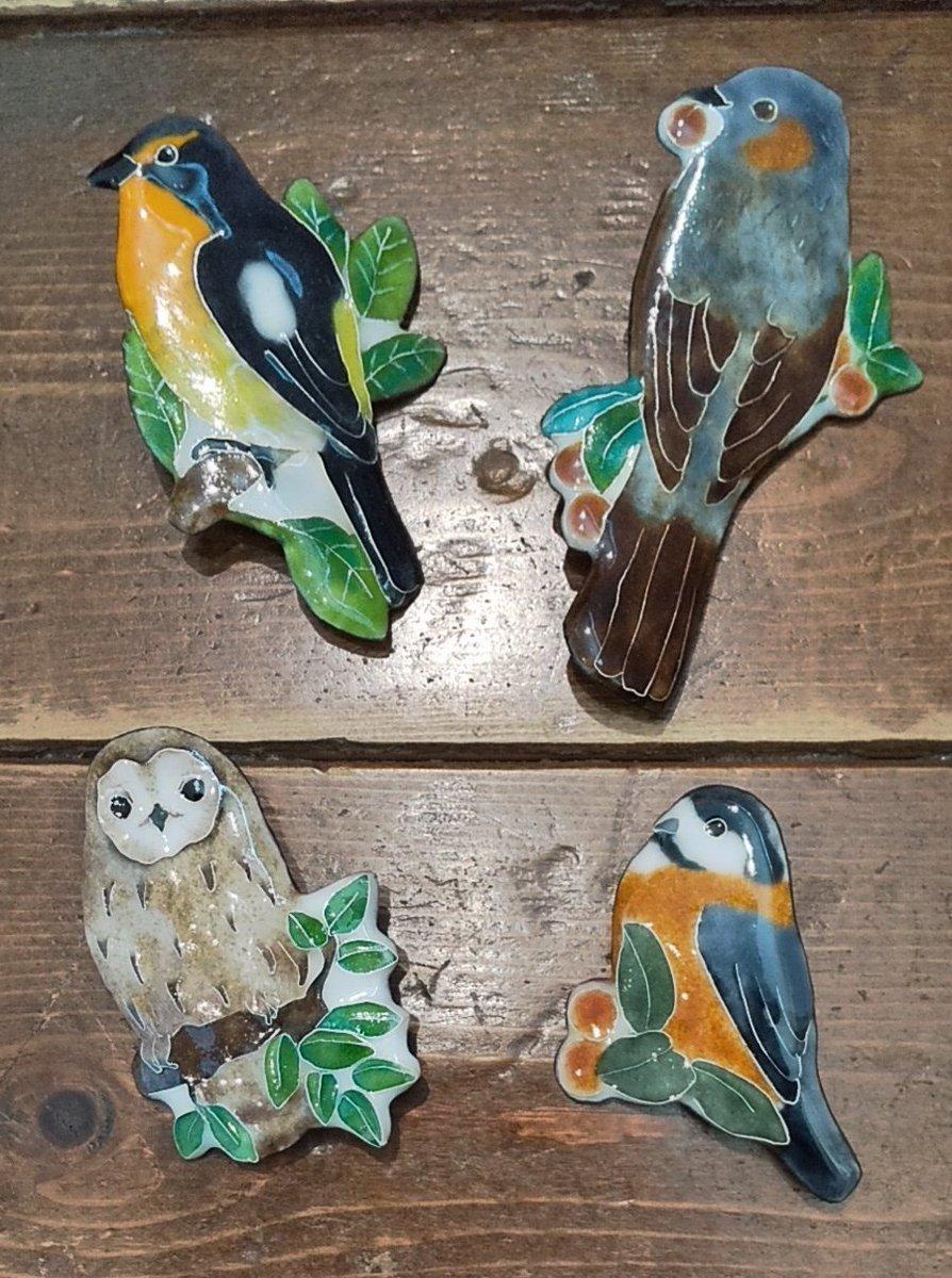 関西つうしん【鳥展 vol.10】花毬さん作品通販受付中と、オーダーも可能です_d0322493_23535033.jpg