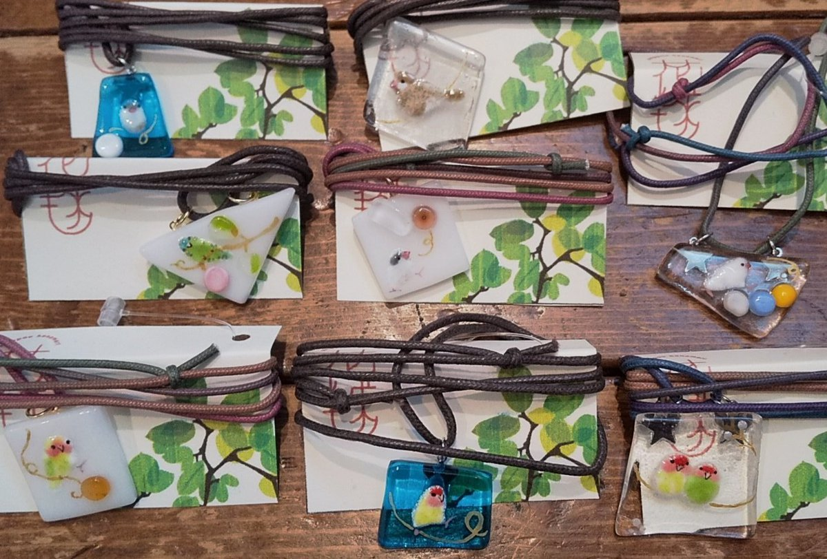関西つうしん【鳥展 vol.10】花毬さん作品通販受付中と、オーダーも可能です_d0322493_23552752.jpg