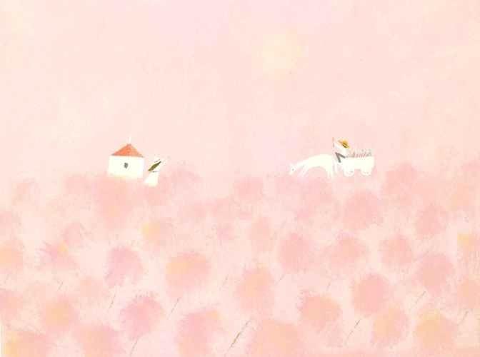 葉祥明の世界を描こう42期『春のお迎え』延期のおしらせ_f0071893_07095260.jpg