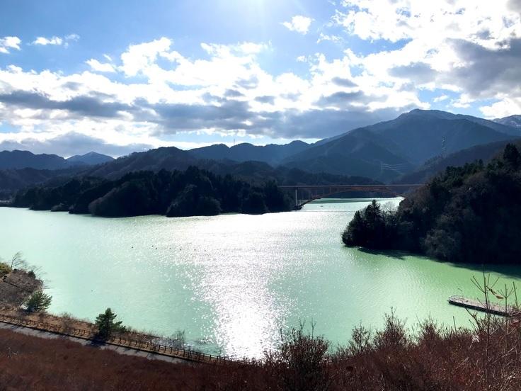宮ケ瀬湖*去年の秋から今年の春まで_c0212604_9162167.jpg