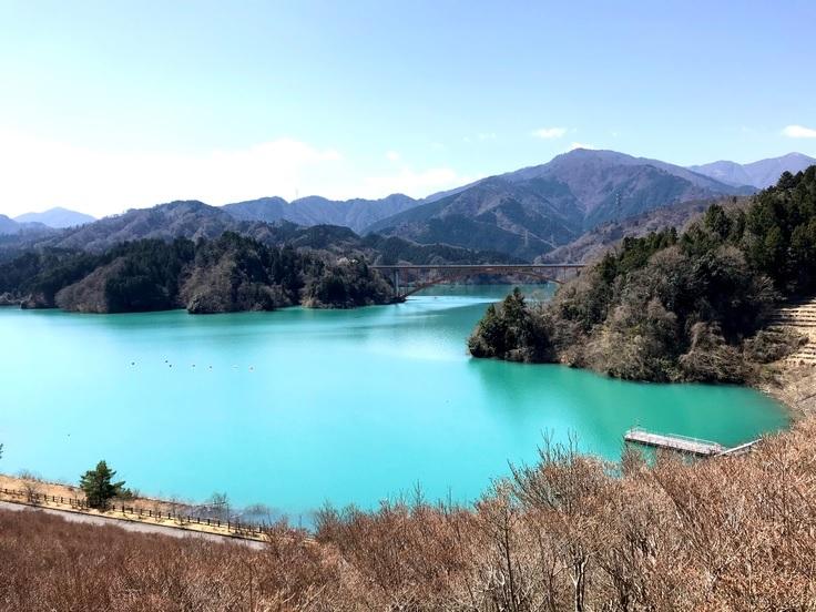 宮ケ瀬湖*去年の秋から今年の春まで_c0212604_9163567.jpg