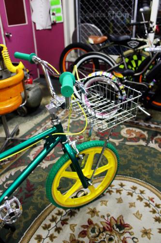 バスケット取り付け  札幌おしゃれ自転車。_a0139912_19400088.jpg