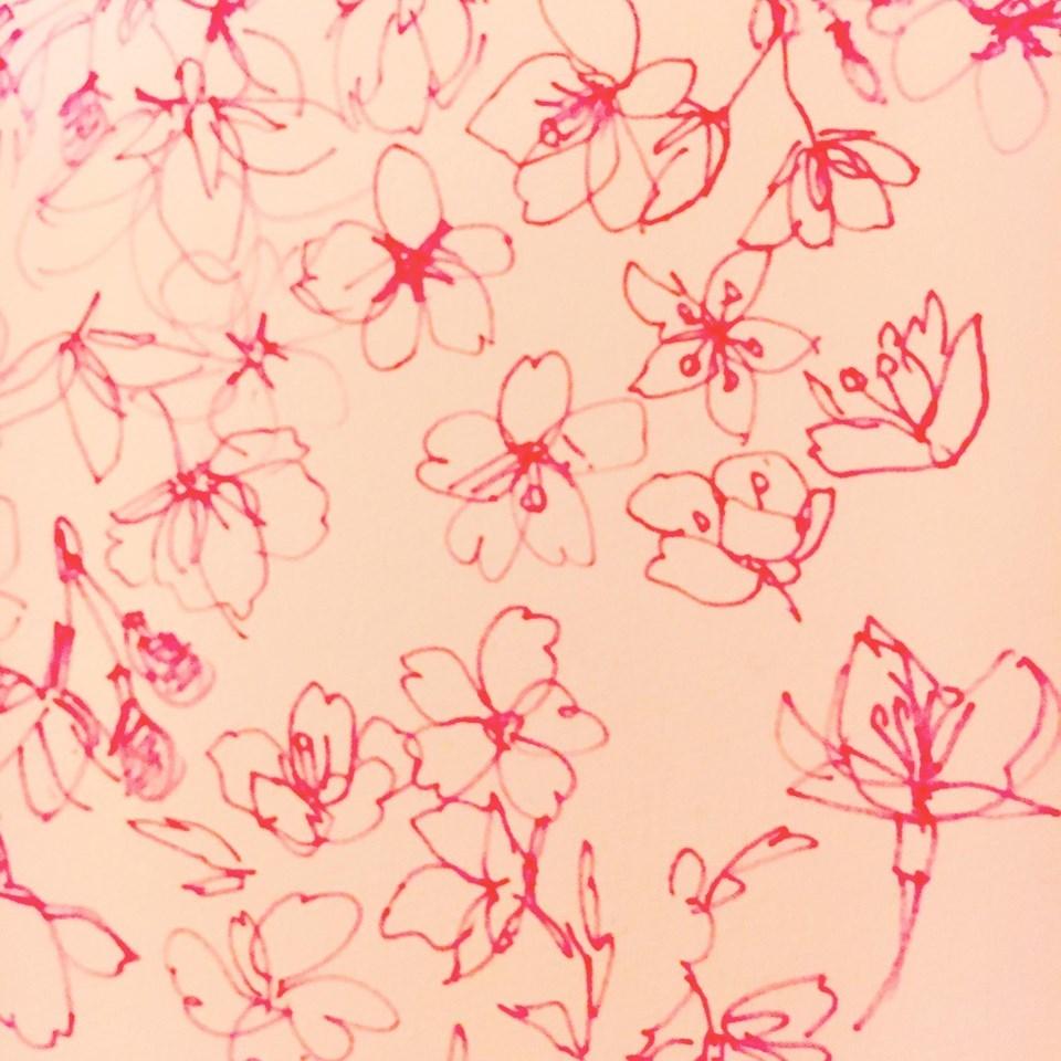 中目黒アート花見会Vol.5 Sakura 展_f0172313_02125906.jpg
