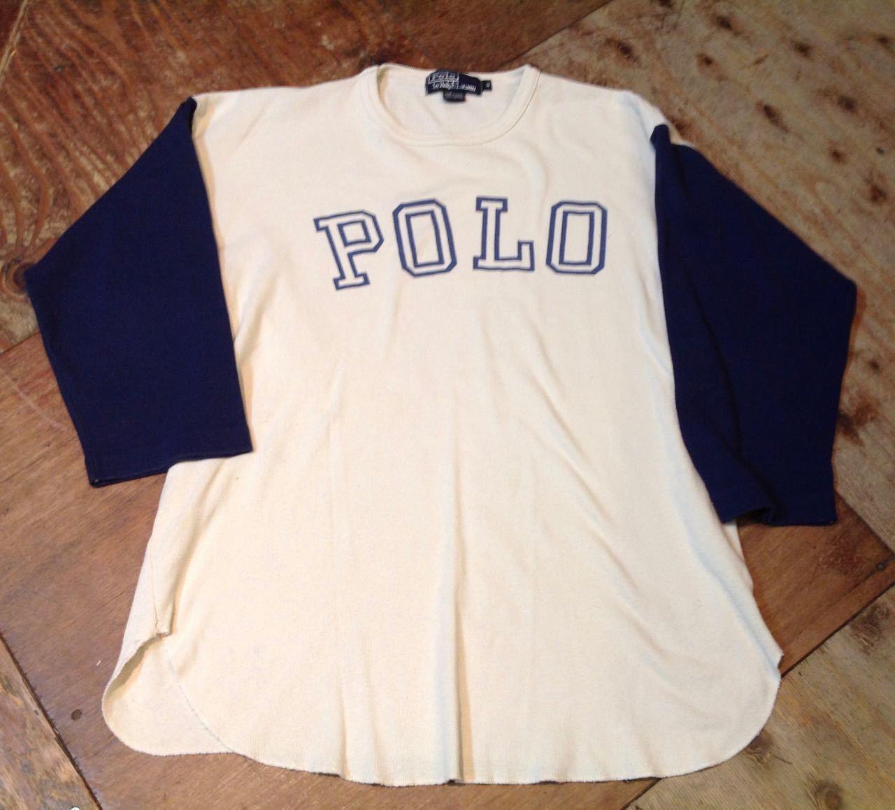 3月28日(土)入荷! 80s 〜Made in U.S.A Polo RalphLauren ロングスリーブTシャツ!_c0144020_14415334.jpg