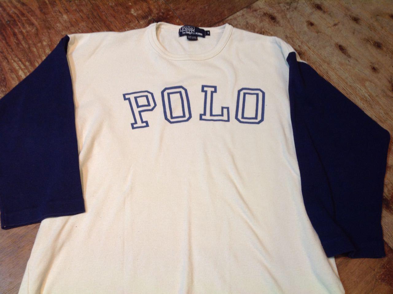 3月28日(土)入荷! 80s 〜Made in U.S.A Polo RalphLauren ロングスリーブTシャツ!_c0144020_14415694.jpg