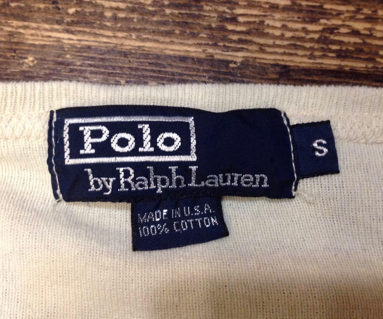 3月28日(土)入荷! 80s 〜Made in U.S.A Polo RalphLauren ロングスリーブTシャツ!_c0144020_14415937.jpg