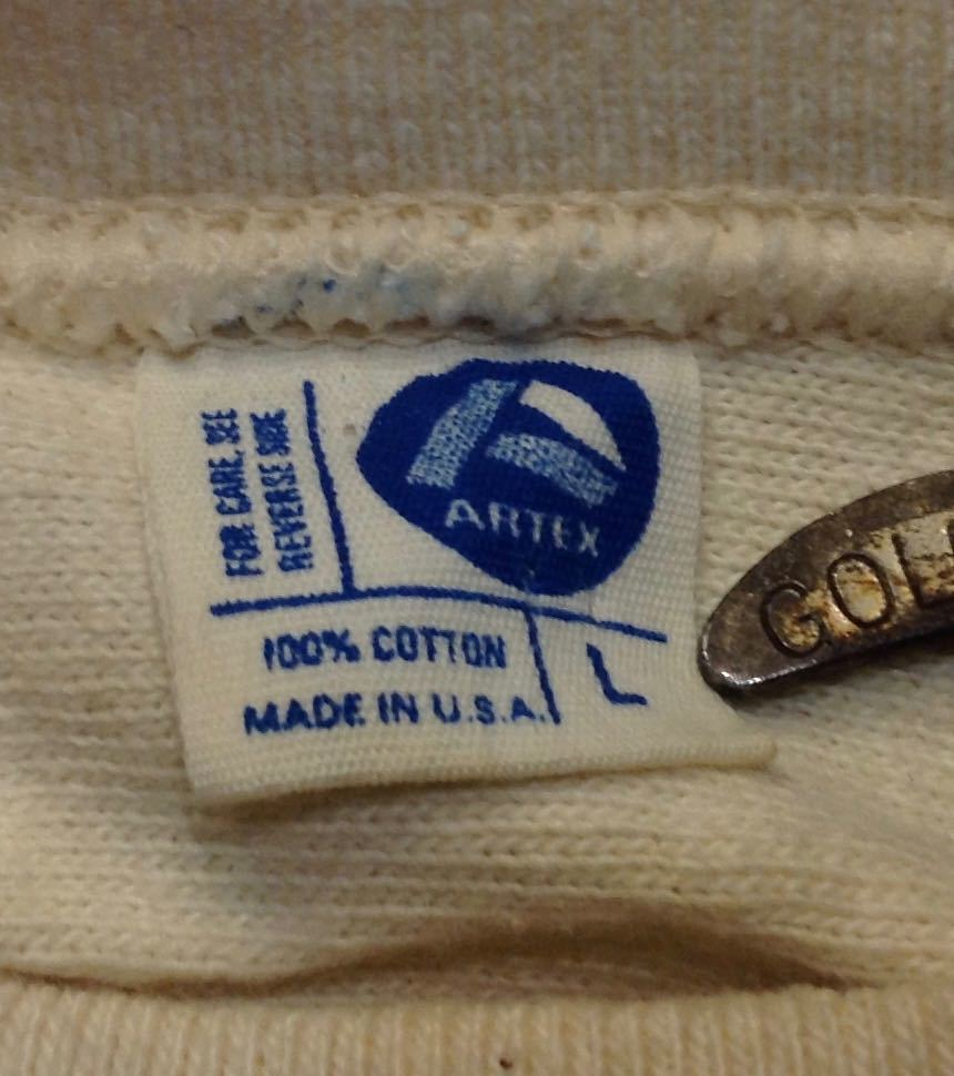 3月28日(土)入荷!70s〜all cotton Artex フットボールTシャツ!_c0144020_14543983.jpg
