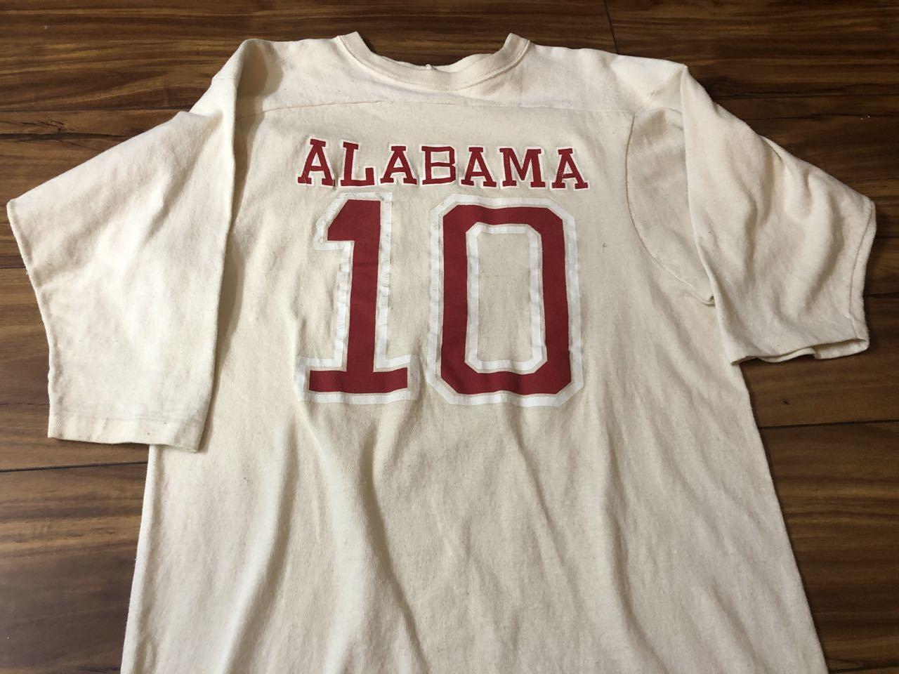 3月28日(土)入荷!70s〜all cotton Artex フットボールTシャツ!_c0144020_14552825.jpg