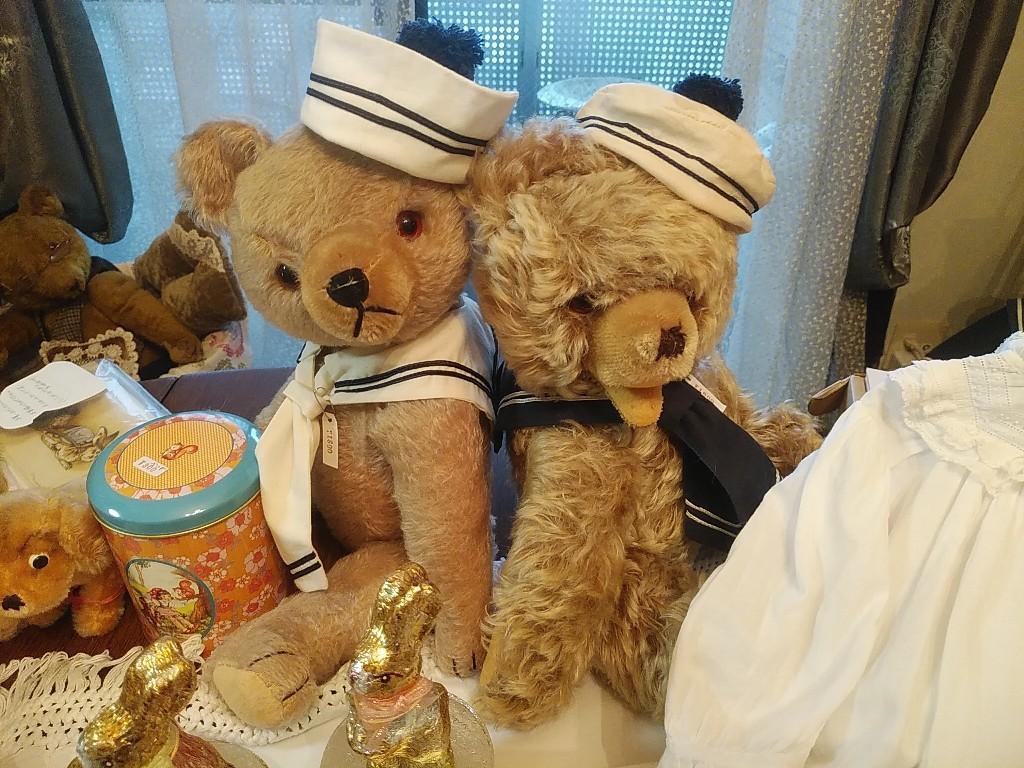 関東地方の有名ベアショップ「Bear\'s kiss 」の小物達福山に来る♡_c0173826_18022690.jpg