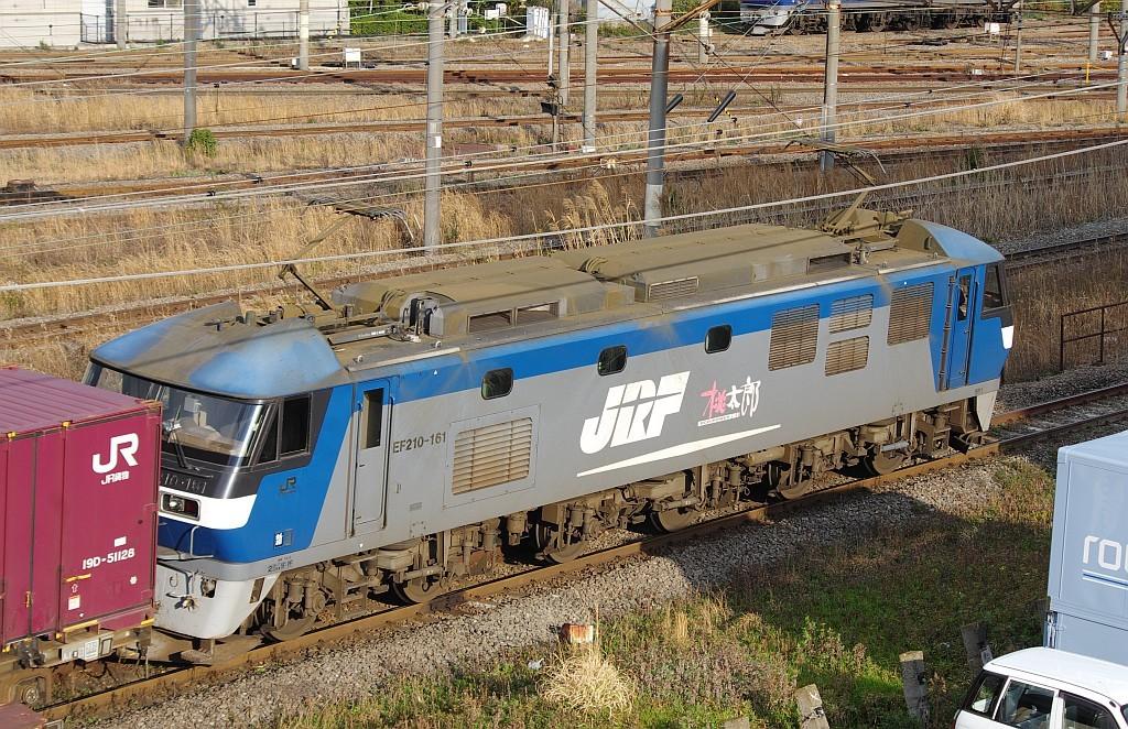 3/20東京貨物ターミナル着3076レのコキとコンテナ_f0203926_22545625.jpg