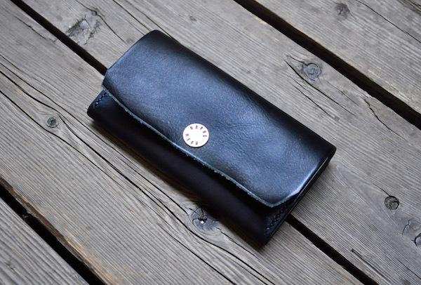 flat concha long wallet_b0172633_19192525.jpg